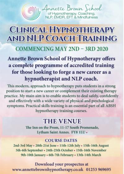 Clinical Hypnotherapy and NLP Coach Training